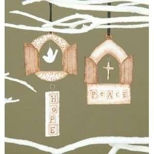 com Club Pack of 12 Wonderful Christmas Time Porcelain Door Christmas