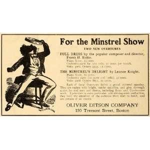 Minstrel Overture Musical Scores   Original Print Ad: Home & Kitchen