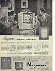 magnavox tv 1950 vintage print ad returns accepted within 30