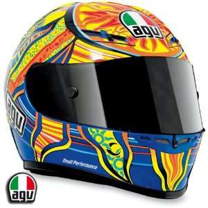 AGV GP Tech Five Continents Motorcycle Helmet Large AGV SPA   ITALY