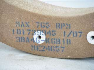 Norton 30 Grinding Wheels for Double Disc Grinders