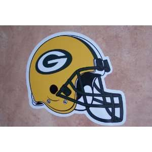 Green Bay Packers FATHEAD Official Team Helmet Logo NFL Wall Graphic