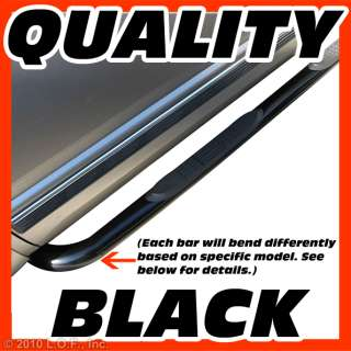Nerf Bars Side Step Board Black 2001 2011 CHEVY GMC SILVERADO SIERRA