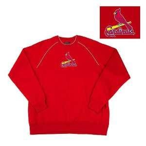 St. Louis Cardinals MLB Inspired Fleece Sweatshirt (Dark