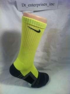 Nike Pro Compression Dri FIT Volt Socks   Oregon BCS Elite   Large 8