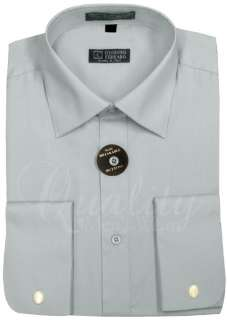 SPREAD COLLAR FRENCH CUFF SHIRT ALL COLORS & SIZES