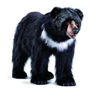 Hansa Ride On Black Bear Stuffed Plush Animal Toys