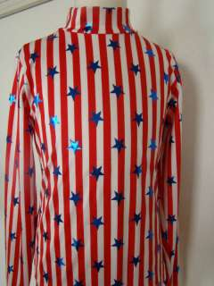 Red White Blue Youth Western Show Shirt Slinky S M L