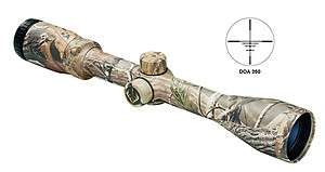 Bushnell Trophy 3 9x40 Scope DOA 250 Reticle Camo RealTree AP 733948AB