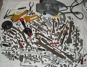 of over 300 Hand TOOLS Sockets Belt Sander Wrenches Stanley Craftsman