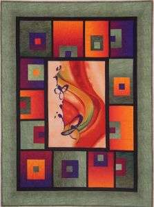 Block Me In Quilt Pattern, Center Panel Quilt, Willow Brook Quilts