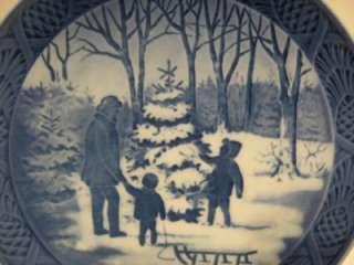 Bing & Grondahl Christmas Plate B & G 1979 Copenhagen