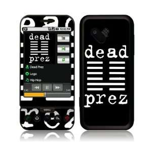 Music Skins MS DP10009 HTC T Mobile G1  Dead Prez  Logo