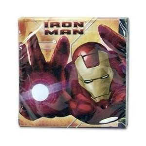 Iron Man Napkin Pack, 16 Count Case Pack 144 Automotive