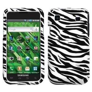 SAMSUNG T959 (Vibrant) Zebra Skin Phone Protector Cover Case