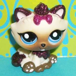 Shop~#2143 SPARKLE HIMALAYAN KITTY CAT Shimmer N Shine~Q141 LPS