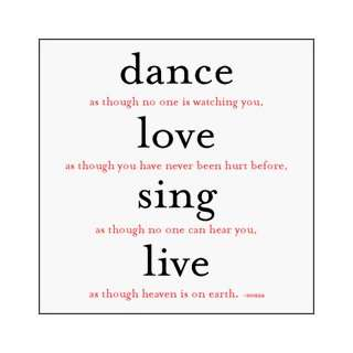 Dance Love Sing Live 10 Holiday Card Box Set Office