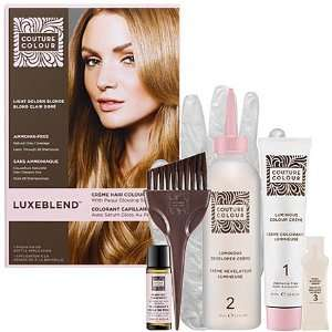 Cr� me Hair Colour With Pequi Glossing Serum Light Golden Blonde