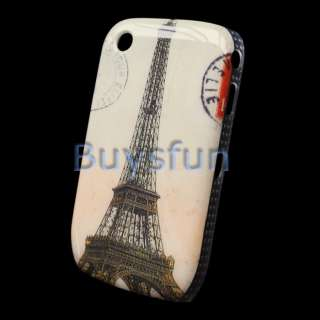 Paris Eiffel Tower Hard Cover Case Skin for BLACKBERRY CURVE 8520 9300