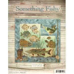 Something Fishy Applique Quilt Pattern Set: Arts, Crafts & Sewing