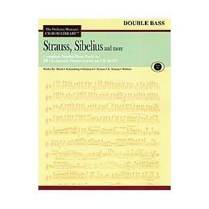 , Sibelius and More   Volume IX (Double Bass) Musical Instruments