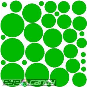 34 Kelly Green Polka Dots Wall Stickers Decals Words