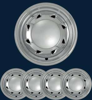 94 02 Chevy Blazer S10 15 Chrome Wheel Skins Hubcaps