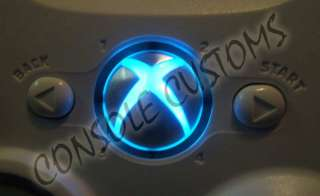 Xbox 360 controller Guide button LED lighting kit