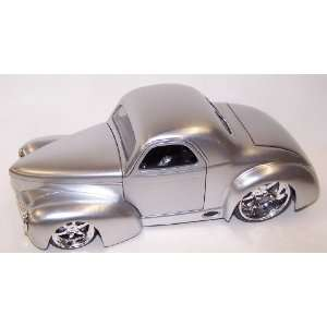 Scale Diecast Dub City 1941 Willys Coupe in Color Silver: Toys & Games