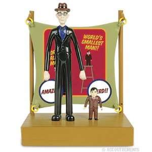 Worlds Tallest Man & Worlds Smallest Man Play Set Toys & Games