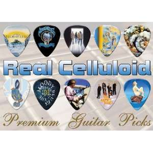 Moody Blues Premium Guitar Picks X 10 (C) Musical