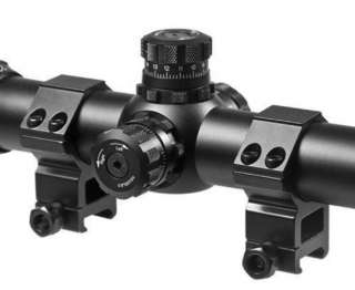 SWAT Tactical 3.5 10X40 IR Rifle Scope w rings & sunshade AC10814 NEW