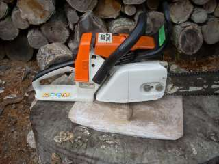 STIHL 026 chainsaw with MS260 pro cylinder and piston