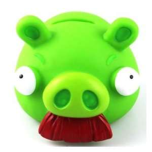 Cute Angry Birds Piggy Bank Money Jar Coin Box S4   Green