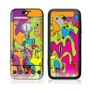 Monsters Decorative Skin Cover Decal Sticker for HTC T Mobile Google