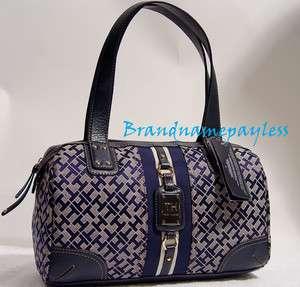 NEW Tommy Hilfiger Blue Handbag Tote Bag Purse