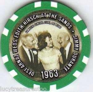 Love Lucy DESI ARNAZ WEDS EDITH HIRSCH 1963 Photo Las Vegas Casino