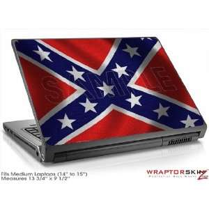 Medium Laptop Skin Confederate Flag Electronics