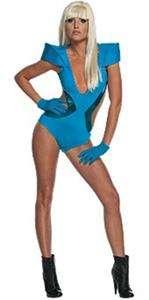 Lady Gaga Blue Poker Face Costume