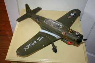 Wen Mac Army Green Bomber WWII .049 Engine Powered Control Line Model