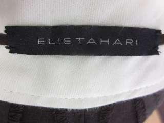 ELIE TAHARI Brown Wool Capri Dress Pants Slacks Sz 2