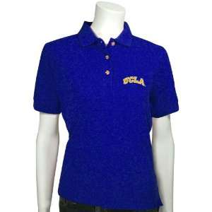 UCLA Bruins True Blue Ladies Velocity Polo Sports