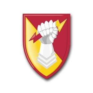 United States Army 38th Air Defense Artillery Brigade Patch Decal