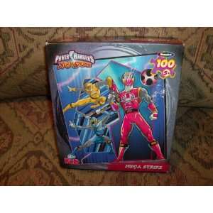 Power Rangers Ninja Storm 100 Piece Puzzle By Rose Art