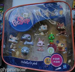 LITTLEST PET SHOP LOT COLLECTORS 8 PACK 1362 1369 NIB