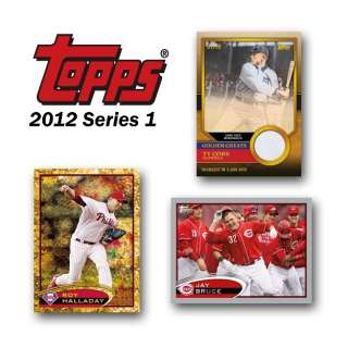 2012 Topps Series 1 Baseball Factory Sealed Value Box NEW