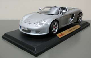 Diecast Model Car   Maisto   118 Scale   New in box   Silver
