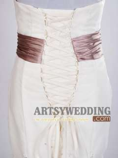 Lace Mermaid Bridal Gown/Wedding Dress Size 2 4 618++++