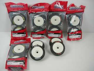 DURATRAX tires and wheels for 1/8 scale RC Off Road buggy