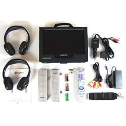 Audiovox 10 Inch Portable LCD DVD Player w/ TV  Overstock